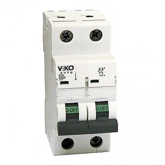 Автоматичний вимикач  Vi-ko 2п 10А