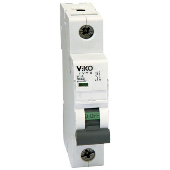 Автоматичний вимикач  Vi-ko 1п 6А