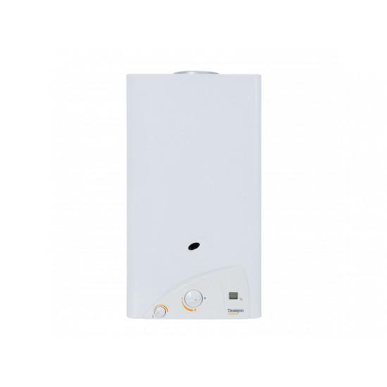 Водонагреватель газовий, димохідний, DEMRAD, SС 275 SEI LCD серії Compact