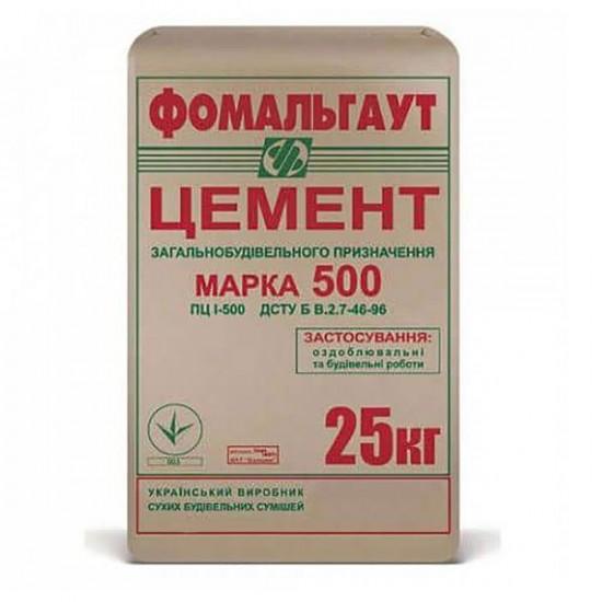 Цемент М-500 ПЦ І