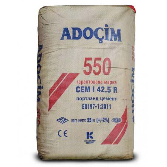 Цемент  ПОРТЛАНД СЕМ 500  Туреччина ,25 кг