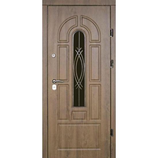 Вхідні двері Екобуд Бастион Плюс 1200*2050 лівий,правий ПВХ-02 рис 92