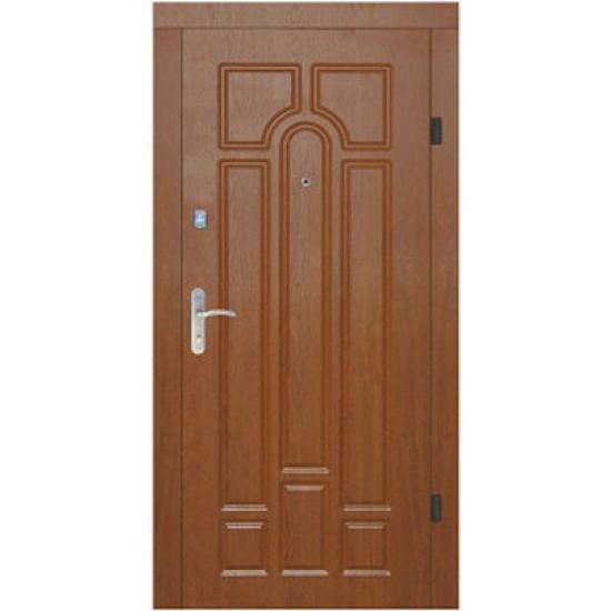 Вхідні двері Екобуд Бастіон 860 Ліва малюнок 186 ПВХ-90