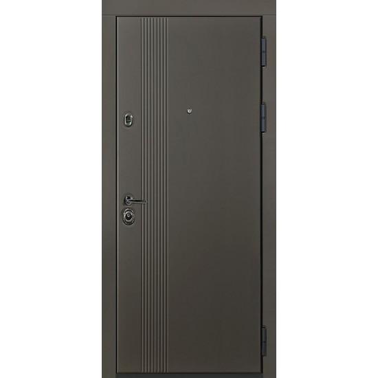 Вхідні двері MAGDA Т-2  860х2050 термо дуб бронзовий 158 праві