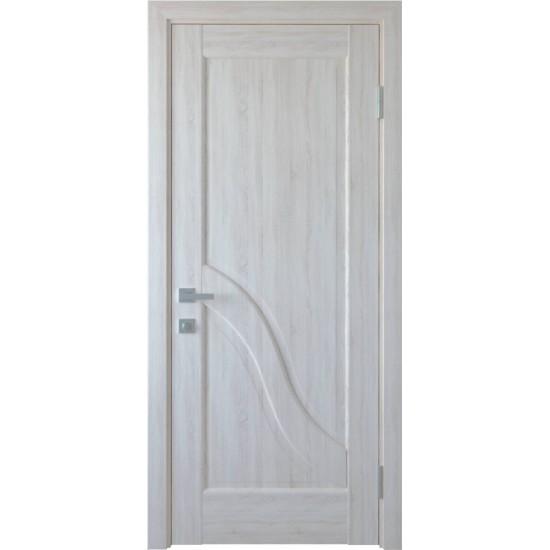 Міжкімнатні двері Новий Стиль ПВХ Амата 600 мм  Білий мат