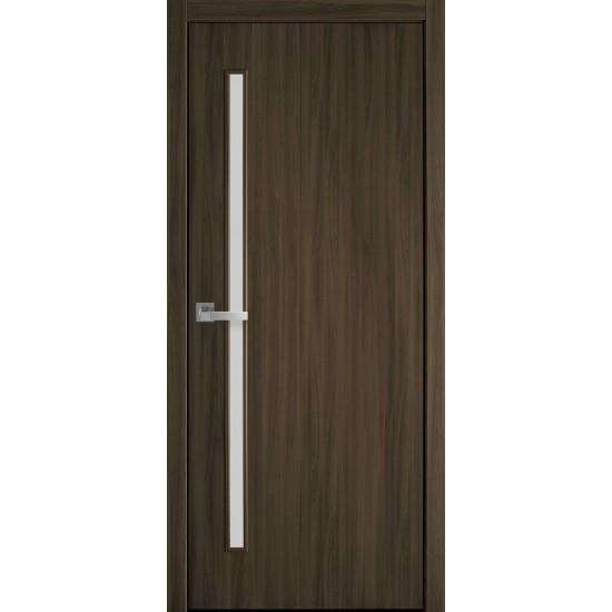 Міжкімнатні двері Новий Стиль Екошпон Глорія 900 мм кедр скло