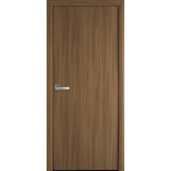 Міжкімнатні двері Новий Стиль Екошпон Стандарт 900 мм  вільха 3D глухі termopack UM