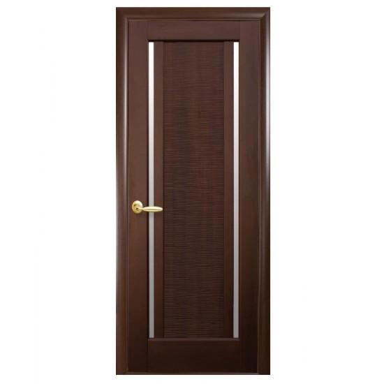 Міжкімнатні двері Новий Стиль ПВХ Луіза 900 мм  каштан