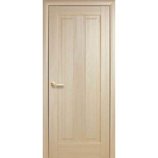 Міжкімнатні двері Новий Стиль ПВХ Премєра 600 мм  ясен глухі