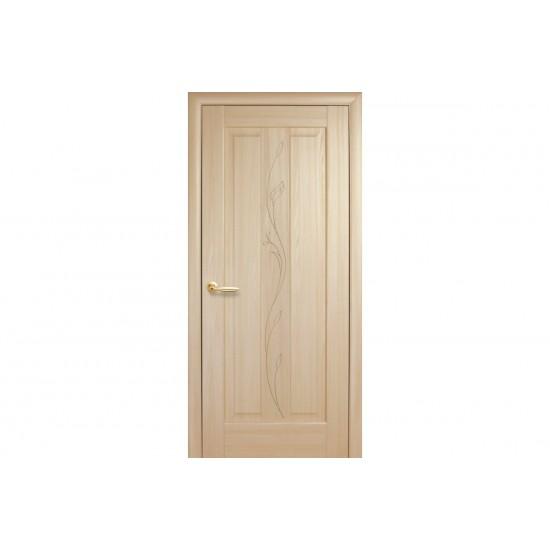 Міжкімнатні двері Новий Стиль ПВХ Премєра 600 мм  ясен фрез