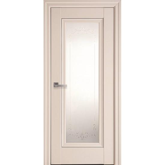 Міжкімнатні двері Новий Стиль ПП Преміум Престиж 900 мм магнолія Р2 ml2