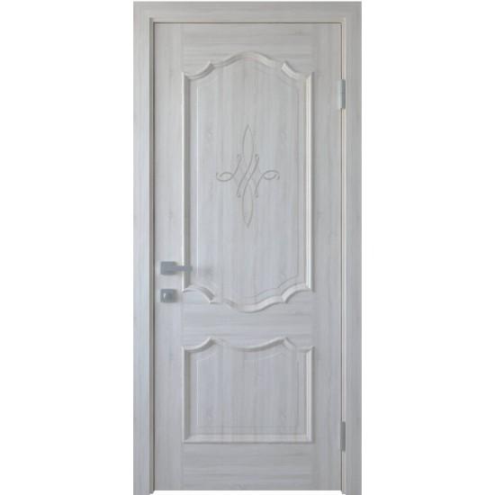 Міжкімнатні двері Новий Стиль ПВХ Делюкс Рока 600 мм  ясен