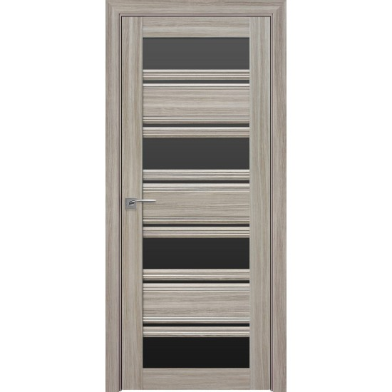 Міжкімнатні двері Новий Стиль СМАРТ Венеція С2 800 мм  перлина magica скло BLK