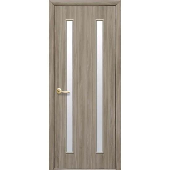Міжкімнатні двері Новий Стиль Вера Екошпон 600 мм  сандал Р1