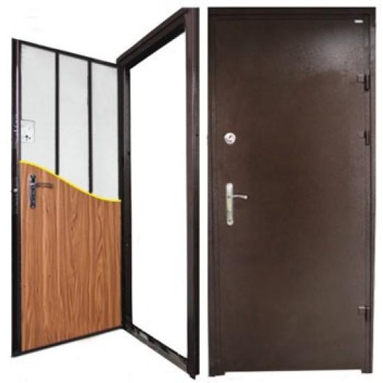 Вхідні двері Титан 860*2050 мідь (один замок)