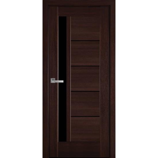 Міжкімнатні двері Новий Стиль ПП Преміум Грета 800 мм  білий матовий скло BLK
