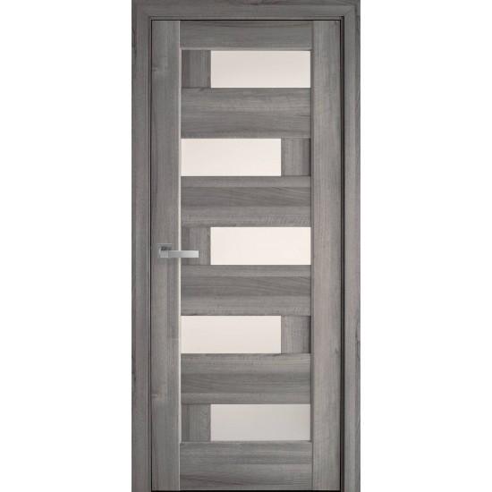 Міжкімнатні двері Новий Стиль ПВХ Піана 900 мм  золота вільха