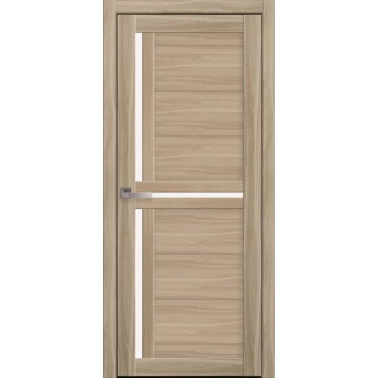 Міжкімнатні двері Новий Стиль Екошпон Трініті 900 мм ясен патина
