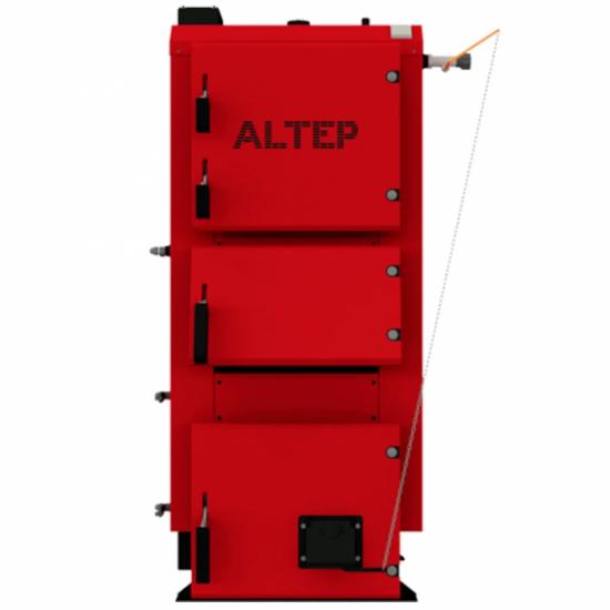 """Котел опалювальний твердотопливний водогрійний """"ALTEP"""" КТ- 2E -25кВт(DUO PLUS)"""
