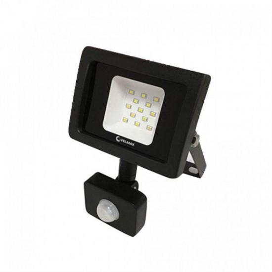 Прожектор  LED Velmax, 20W, 6200K, 1800Lm, кут 120* з датчиком руху