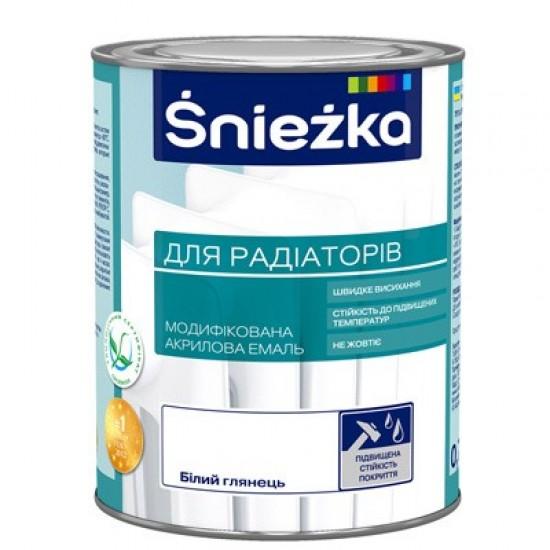 Акрилова емаль Снєжка для радіаторів 0,75 л