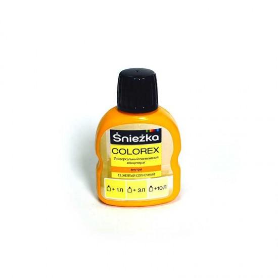 Пігмент Sniezka Colorex 12 Жовто Сонячний