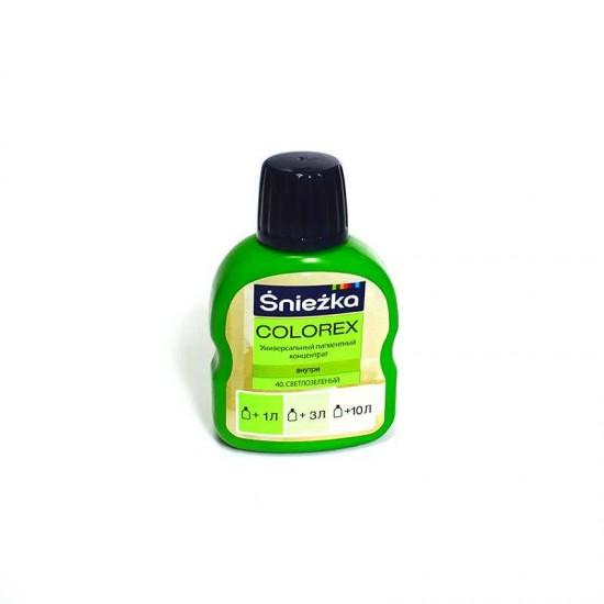 Пігмент Sniezka Colorex 40 Світло зелений