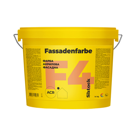 Shtoсk Fassadenfarbe (F4) база С, 14 кг (пал.44 щт.)