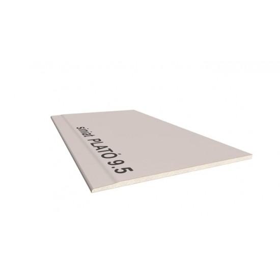 Гіпсокартон вологостійкий стіновий PLATO Vlagastop 12,5х1200х2500
