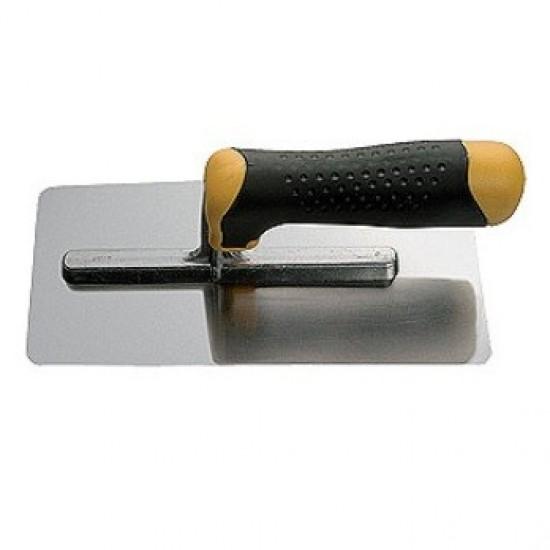 Гладилка * 28 *, 28х12см, нерж.сталь, ручка 2К, зубчасті 6х6мм