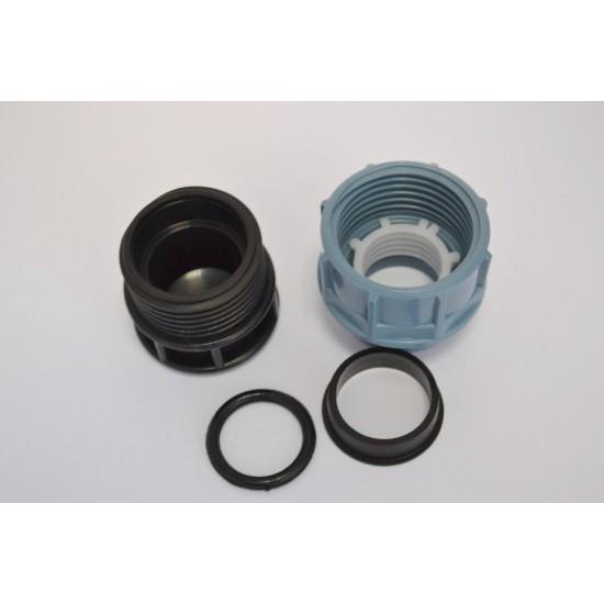 Заглушка для поліетиленової труби STR 40 мм ПЕ ПНД