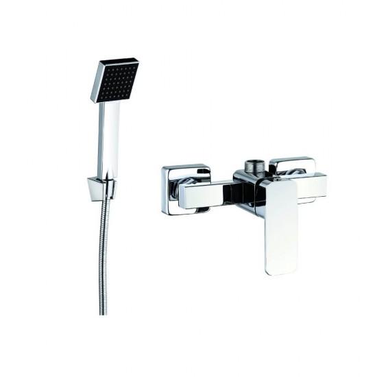 Змішувач  ZEGOR душ кабіна LEB5-A123