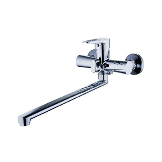 Змішувач  ZEGOR для ванни  довгий євро PUD7-A045