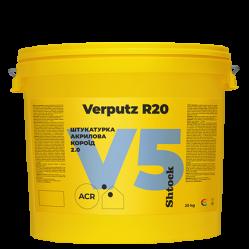 "Shtock АКРИЛОВА""Короїд"" Verputz R20 (V5) база A, 25 кг (пал. 24 шт)  2,8кг/кв.м"