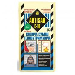 Клей для плитки теплоакумулюючий АРТІСАН С-18 20кг