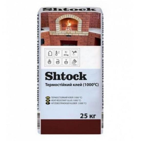Клей термостійкий (1000°С) Shtock М17 20 кг