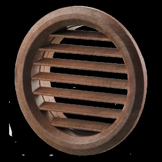 МВ 50/4 бВ коричнева  гратка вентиляційна пластикова