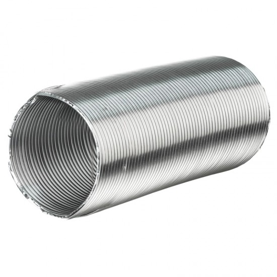 Алювент М 125/3 (нз/п) повітропровід алюмінієвий гнучкий